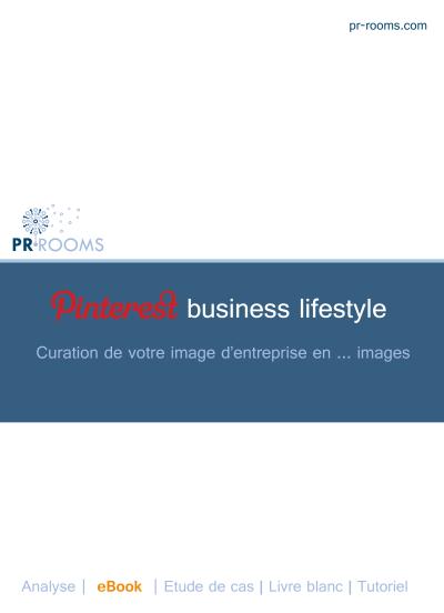 Couverture du livre blanc PR•ROOMS sur Pinterest