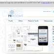 Une image de la page d'accueil de PR ROOMS dans le cache de Google avec la date de dernière capture