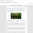 Un communiqué de presse HTML envoyé par mail vu dans Gmail