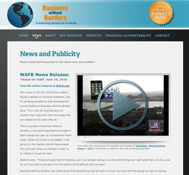 """Le site de journalisme de marque """"Business Without Borders"""" de HSBC"""
